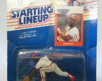 OZZIE SMITH 1988 Starting Lineup Special Sealed Rare Collectible Figurine Gift St Louis Cardinals MLB Hall of Fame