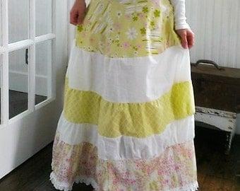 Boho Skirt Gypsy Skirt The Wild Raspberry