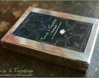 Tarocchi di connessione - Tarot deck by Vocisconnesse - Major Arcana - in SILVER  box