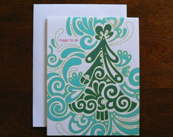 HOLIDAY CARD : Magic to All