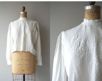 25% OFF.... Bounty Hill blouse | antique 1910s blouse | edwardian cotton shirtwaist