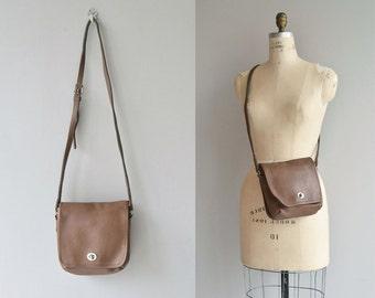 Coach 'Companion' bag | vintage Coach bag | brown leather saddle bag