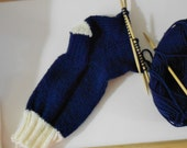 Custom Order - zibi12 - Hand Knit Socks