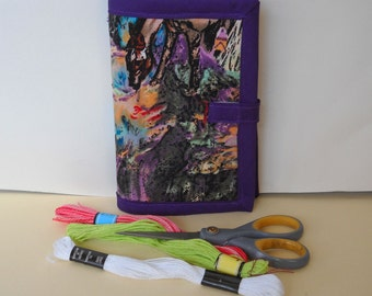Purple Canyon Needle Book Case Hand Sewing Organizer