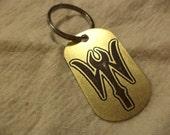 Marvel's Dr Strange Etched Brass Keychain