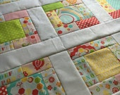 Unfinished baby sized quilt top - Simply Sweet by Lori Whitlock for Riley Blake