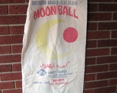 1980 Moonball American Hard Wheat Flour sack 100lbs