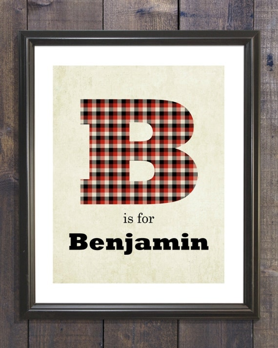 Nursery Wall Art Baby Boy Nursery Print Boy Nursery Decor