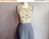 SALE Marta cotton and linen dress Sz 4