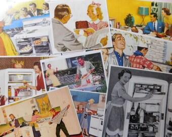 Vintage Images - Paper Ephemera - 1950's