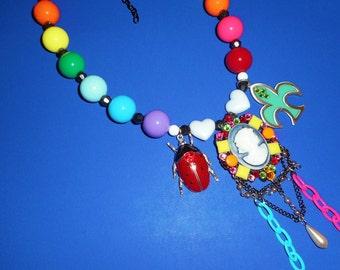 Cameo Rainbow Rampage Necklace