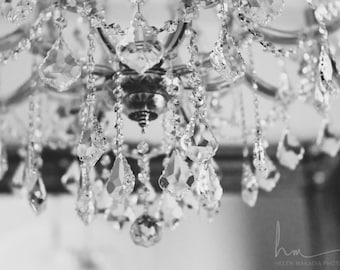 chandelier photograph crystal chandelier nostalgic surreal still life light fixture bedroom living room nursery large wall art lensbaby