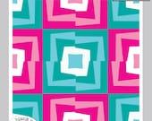 Wonky Quarter #204 Paper Piecing Pattern PDF