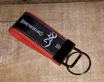 Browning  Key Fob Mini on Orange