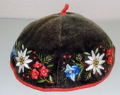 Childs SWISS Embroidered Beanie Hat