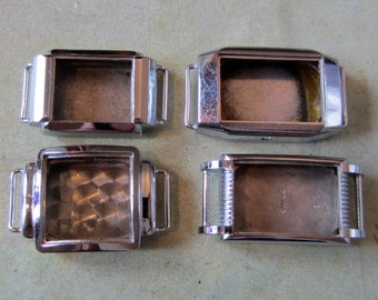 Vintage  Watch parts - watch Cases -  Steampunk - Scrapbooking  g96