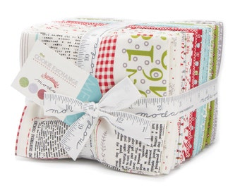 FALL SALE - In Stock - The Cookie Exchange - Fat Quarter Bundle (33) - Sweetwater for Moda Fabric