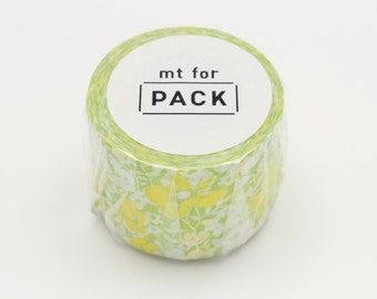 mt for pack - masking tape for packing - flower