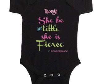 Baby Girl Bodysuit Funny Girl One Piece Famous Quote Romper Newborn Creepers to Girly Tees Baby Bodysuit