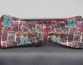 Deadpool Comic Bow Tie