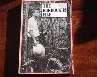 The Burroughs File By William S. Burroughs Vintage Paperback Book