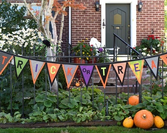 Trick Or Treat Halloween Banner Kit