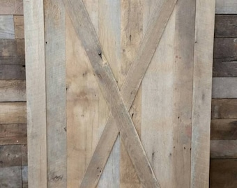Your Made to Order Large Barn Wood Sliding Door FREE SHIPPING - BWD75D