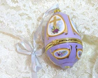 Easter Egg Box Ornament