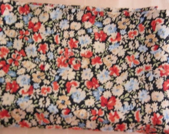 "Destash Multi Mini Floral Print Fabric Probably Rayon 46"" Wide 3 Yards"