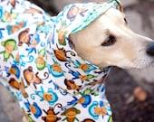 Monkey: Dog Raincoat, Waterproof Dog Coat, Dog Raincoat with Hood, Raincoats for Dogs