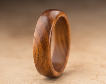 Size 11.25 - Guayacan Wood Ring No. 372