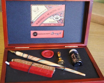 Calligraphy and Wax Sealing Set - by Manuscript