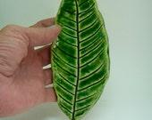 Ceramic Leaf Dish-Spoon Rest-Tea Bag Dish