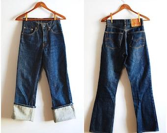 Vintage Levi's 550 Dark Indigo Jeans