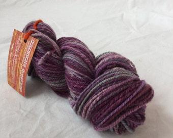 Destash Colorbomb Creations Ménage a Trois handspun yarn