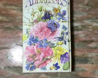 Marjolein Bastin Tri Fold Address Book Natures Sketchbook Floral Magnetic