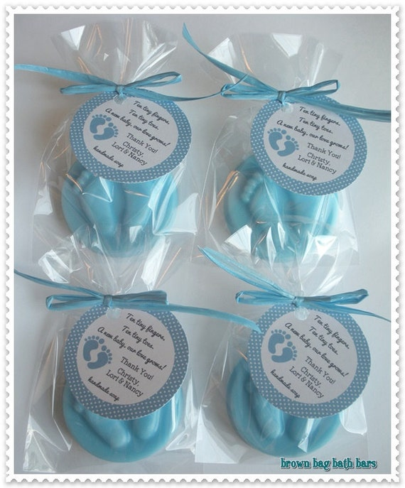 Baby Feet Party Favors Footprints Baby Shower Favors Tiny