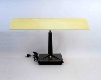 Vintage Florescent Gooseneck Desk Lamp by Panasonic. Circa 1970's.