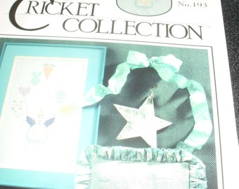 coCross Stitch Chart / Pattern - Balloon Bunny - Cricket Collection