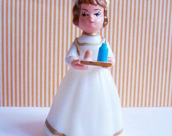 Red Cross Vintage Wilton Nurse Cake Topper