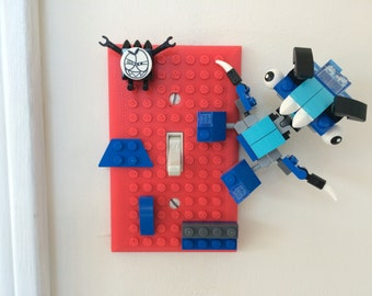 3D Printed Lego Light Switch Cover / Switch Plate