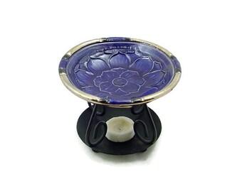 ESSENTIAL OIL Lotus DIFFUSER Handmade Ceramic PotteryGlaze