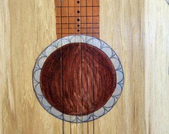 Guitar Cuttting Board