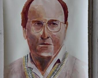 George Costanza watercolor