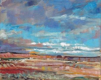 Desert Utah Painting Original Landscape Art