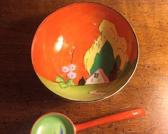 Noritake Vintage bowl and ladle