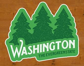 Washington the Evergreen State | Sticker