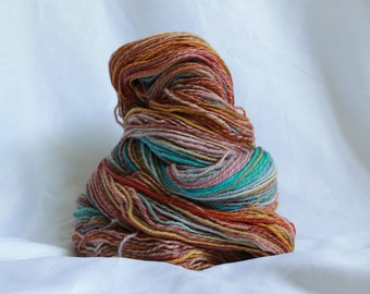 Hand spun Super fine merino light worsted 330 yards