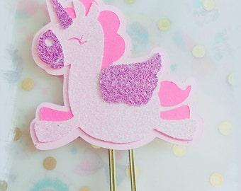 Paperclip planner unicorn glitter pink kawaii filofax erin condren