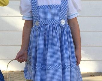 dorothy dress  size 3 child